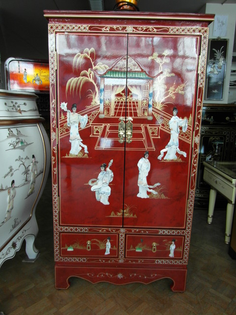 meubles chinois d 39 entr e 2 portes 2 tiroirs asiatique montpellier par meubles chinois. Black Bedroom Furniture Sets. Home Design Ideas