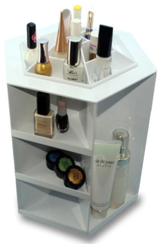Delicieux Ashley Rotating Acrylic Cosmetic/Makeup Organizer