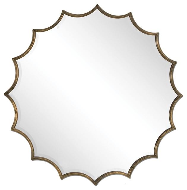 San Mariano Starburst Mirror By Designer Grace Feyock.
