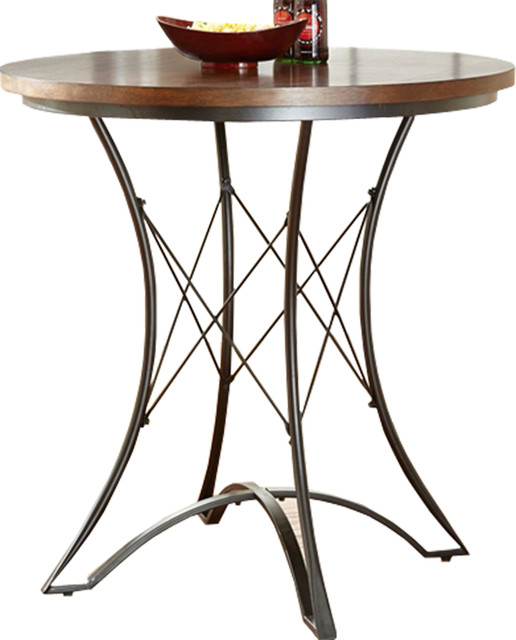 Round 36 Inch Counter Height Kitchen Dining Table