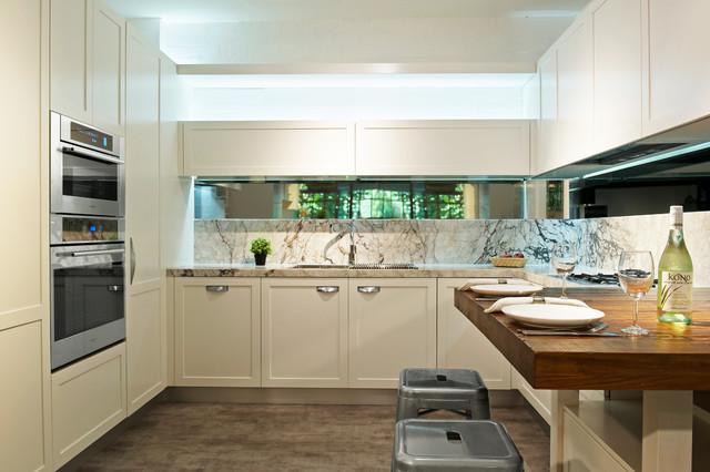 Willoughby Showroom - Scandinavian - Kitchen - Sydney - by dk design ...