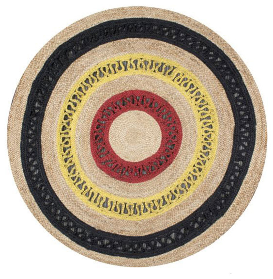 nuloom hand woven maui round jt rug  contemporary  area rugs, 3' 6 round area rug, 6 feet round area rugs, 6 ft round area rugs