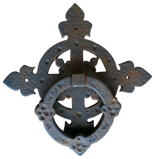 Moorish Revival Door Knocker/Door Pull industrial-door-knockers  sc 1 st  Houzz & Moorish Revival Door Knocker/Door Pull - Industrial - Door ... pezcame.com