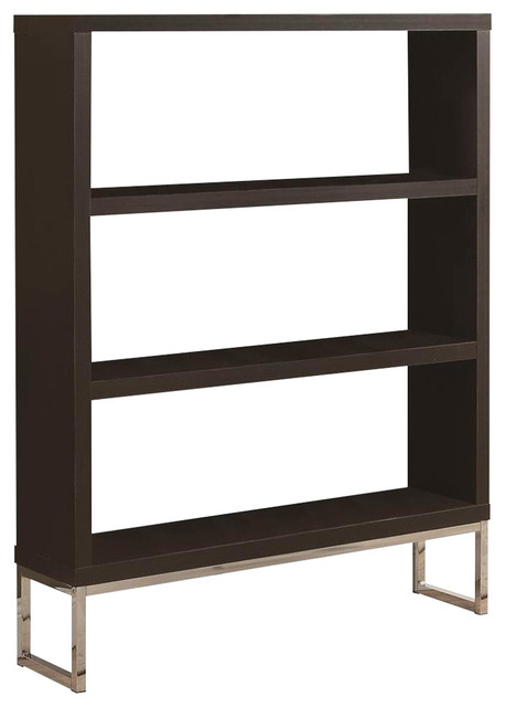 Hollow Core Bookcase With Room Divider.