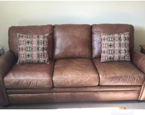 Used Leather Sofa Set