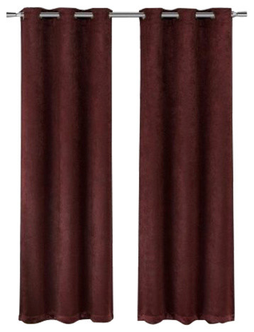 Bali Set of 2 100/% Blackout Curtains Upscaled Abstract Thermal Insulated Grommet