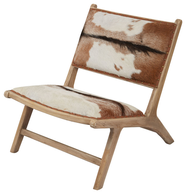 161 005 Goatskin Lounger Transitional Armchairs And Accent Chairs