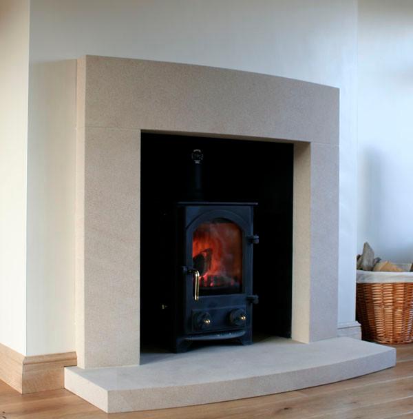 Cast Stone Modern Fireplace Modern Other By Southern