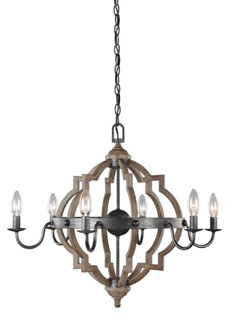 Seagull Lighting 3124906en 846 Socorro Chandelier Stardust
