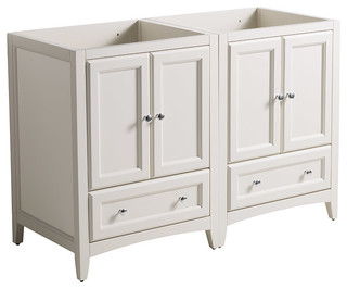 Fresca fcb20 2424aw cmb oxford traditional double sink for Decorplanet bathroom vanities