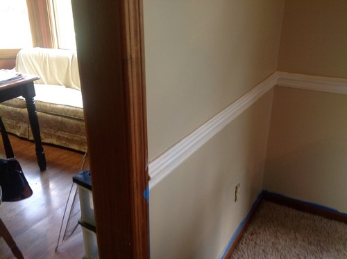How To Transition Between Stained Amp Painted Trim