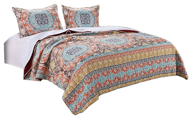 Greenland Olympia Collection Quilt Set Twin