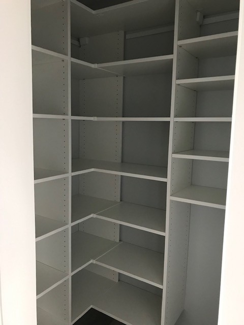 Pantry & Small Walk-in Closet in Asheville, NC