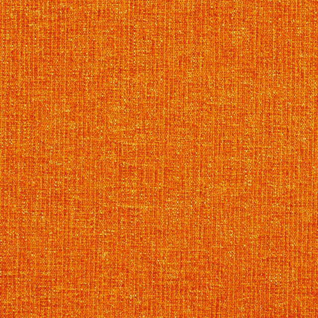 Orange Solid Soft Durable Chenille Upholstery Fabric By The Yard