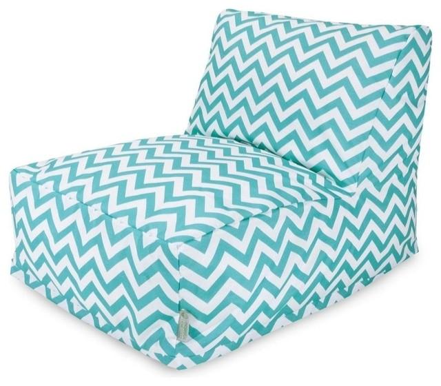 chevron bean bag chair lounger contemporary bean bag. Black Bedroom Furniture Sets. Home Design Ideas