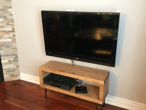 Is the TV console too small?