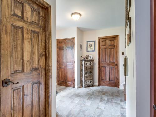 Foyer Powder Room : Entryway and powder room renovation