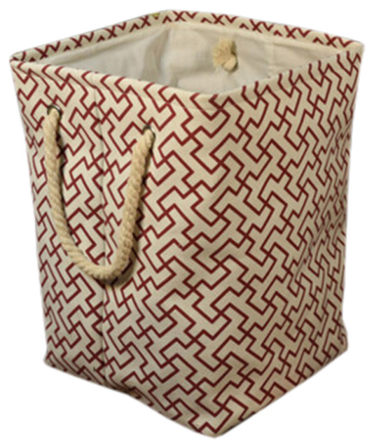 Stylish Hamper Laundry Storage Basket, No.11.