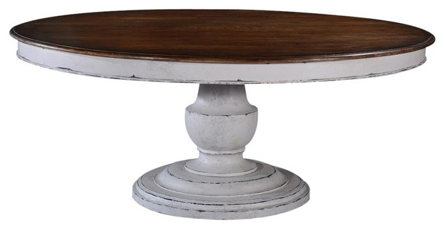 Dining Table Scottsdale Round Wood Pedestal