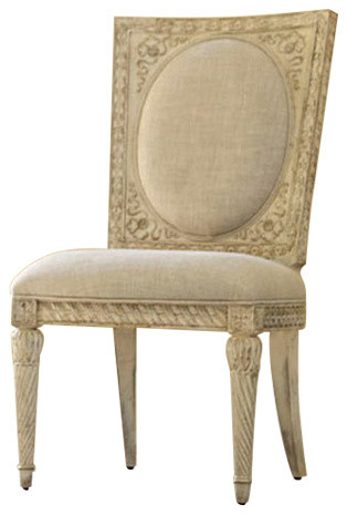 Jessica Mcclintock White Veil Side Chair, 217 638W   Traditional   Dining  Chairs   By The Simple Stores