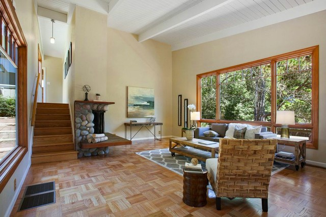 2620 Haverhill Drive Oakland CA Rustic Living Room San Francisco By