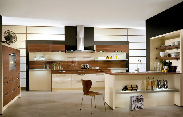 Contemporary boston kitchen design for Modern german kitchen designs