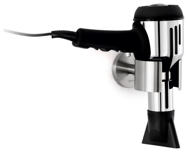 Blomus Primo Hair Dryer Holder Matte Modern Bathroom