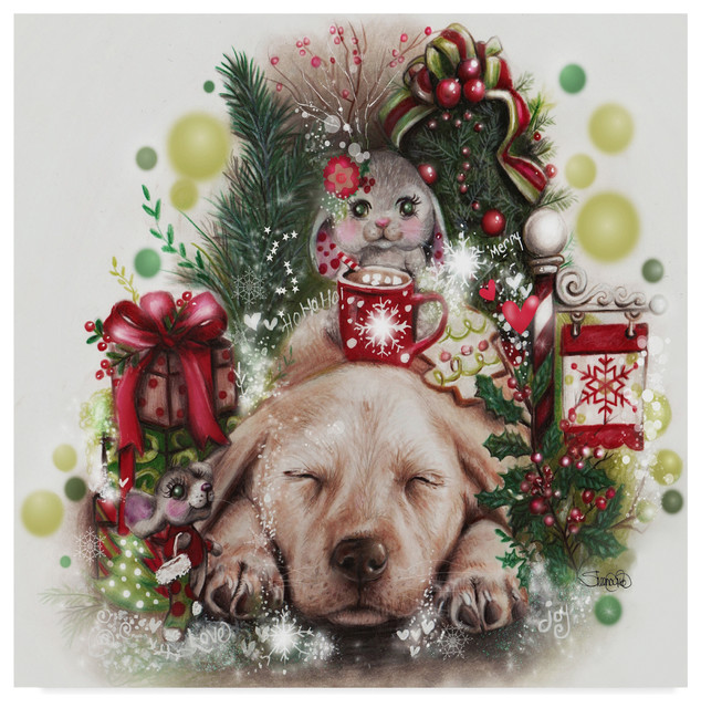 Sheena Pike Art And Illustration Dreaming Of Christmas