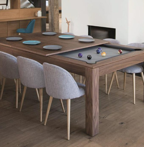 Fusion Woodline Convertible Dining/Pool Table