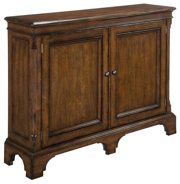 Exceptionnel New Narrow Hall Cabinet, Solid Wood Cherry