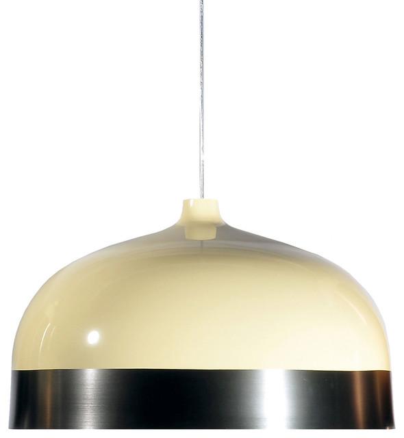 Suspension, Glaze, crème, gris anthracite, Ø33cm - Innermost