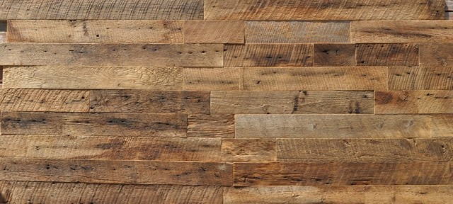 Rustic Wall Paneling ~ East coast rustic reclaimed wood wall paneling brown