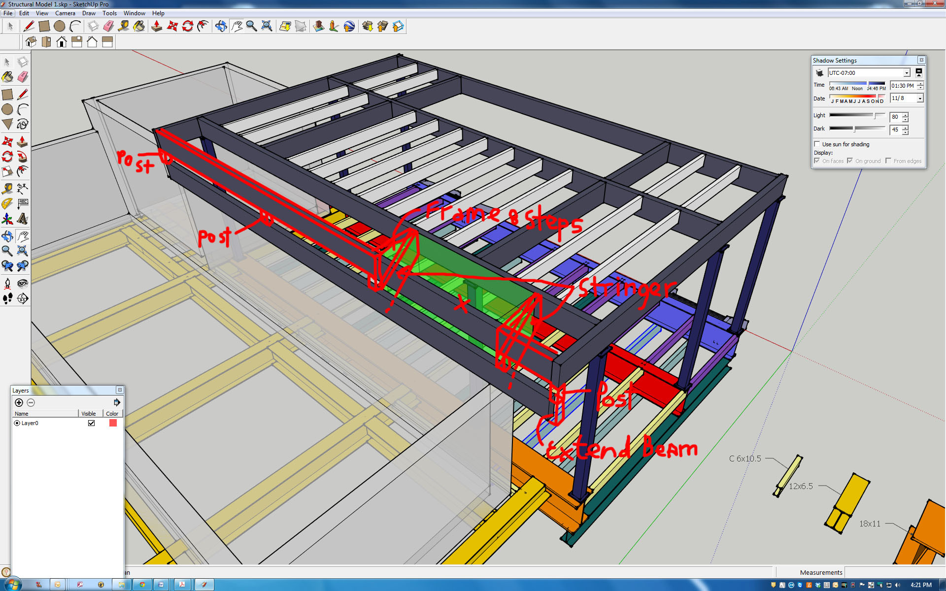 CAD drawing ready for DOB filing and Engineering studies