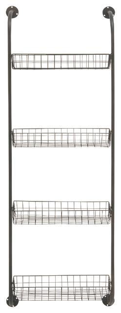 Useful Metal Wall Storage Rack Industrial Wall Organizers