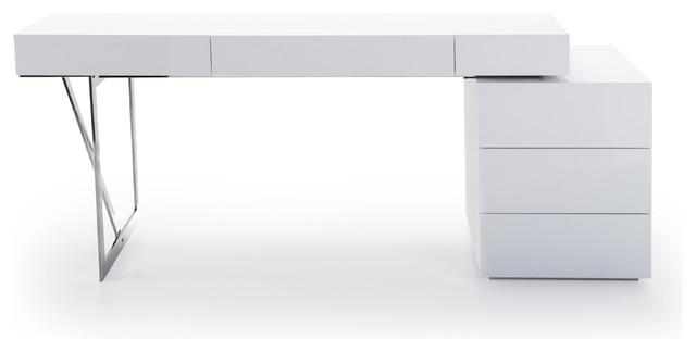 Loft Modern Office Desk Desks And Hutches by JM Furniture
