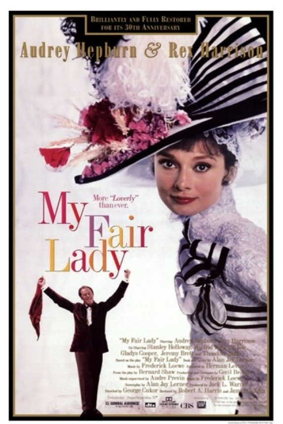 My Fair Lady Print Midcentury Prints And Posters By Posterazzi