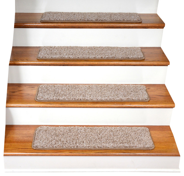 Diy Stair Treads Out Of Flor Tiles: Tape Free Non-Slip DIY Carpet Stair Treads, Set Of 15