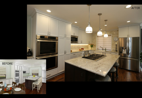 New Kitchen In El Segundo Before After