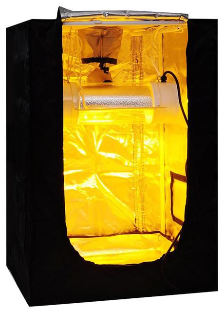 100% Reflective Mylar Hydroponic Mini Grow Tent Non-Toxic.