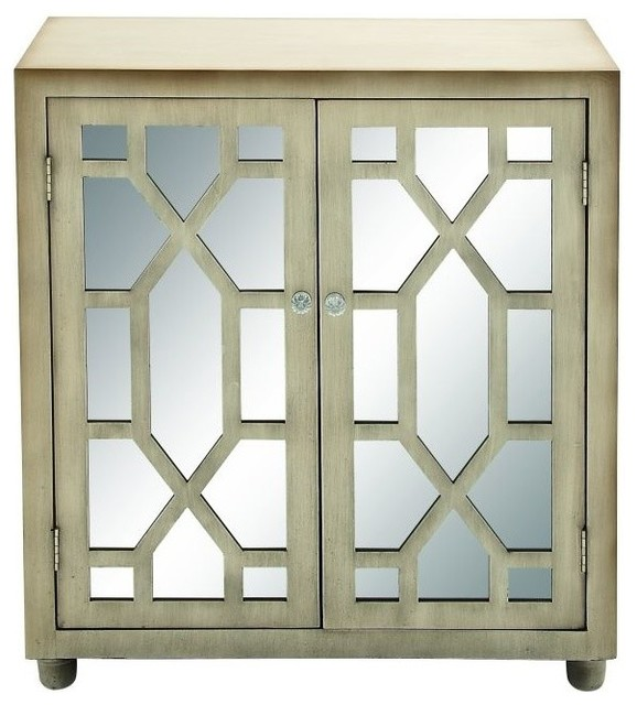 Wood Mirror Cabinet - Transitional - Accent Chests And Cabinets - by ...