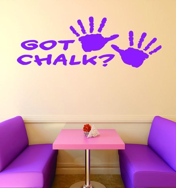 Vinyl Decal Got Chalk Gymnastics Sign Teen Girl Bedroom