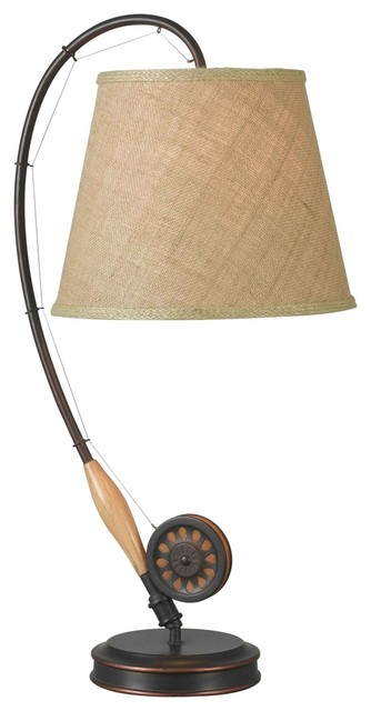 Flytable Lamp  Oil Rubbed Bronze.