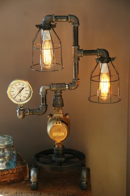 Machine Age Lamps Steampunk Gear Steam Gauge