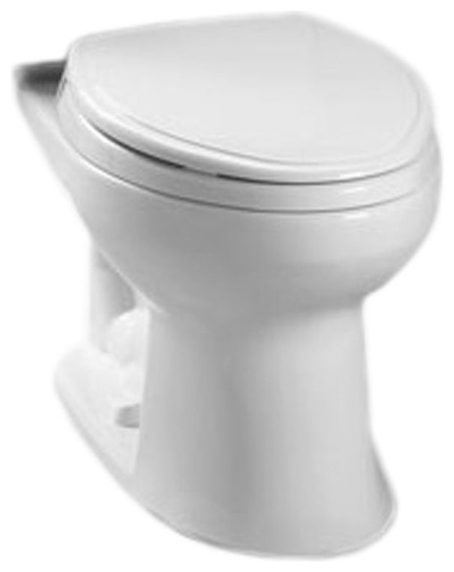 Remarkable Toto Eco Drake Elongated Toilet Bowl For 10 Rough In C744Ef 1001 Cotton White Ocoug Best Dining Table And Chair Ideas Images Ocougorg