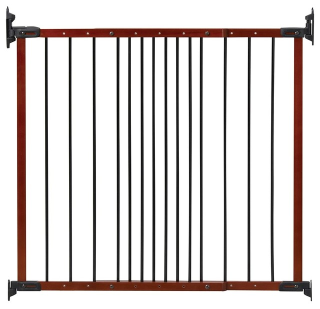 Kidco Designer Angle Mount Safeway Safety Gate Cherry