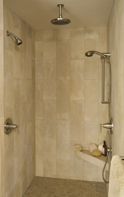 Bathroom Tiles Horizontal tub/shower wall tile decision