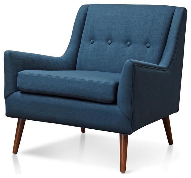 Outstanding Rex Lounge Chair Azure Theyellowbook Wood Chair Design Ideas Theyellowbookinfo