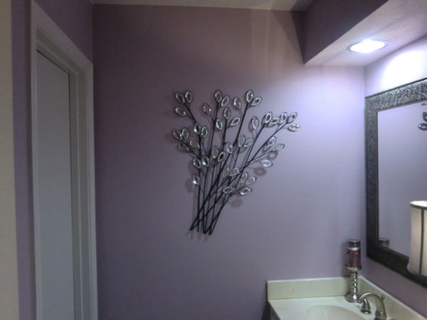 Luxurious Lavender Lavatory