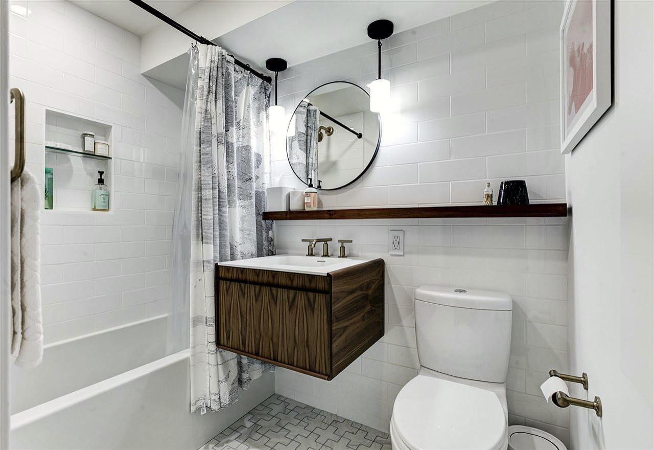 Jersey City Condo Hall Bath