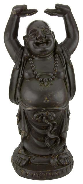 Wonderful 3' Tall Standing Laughing Buddha Statue - Asian - Home Decor - by  TU06